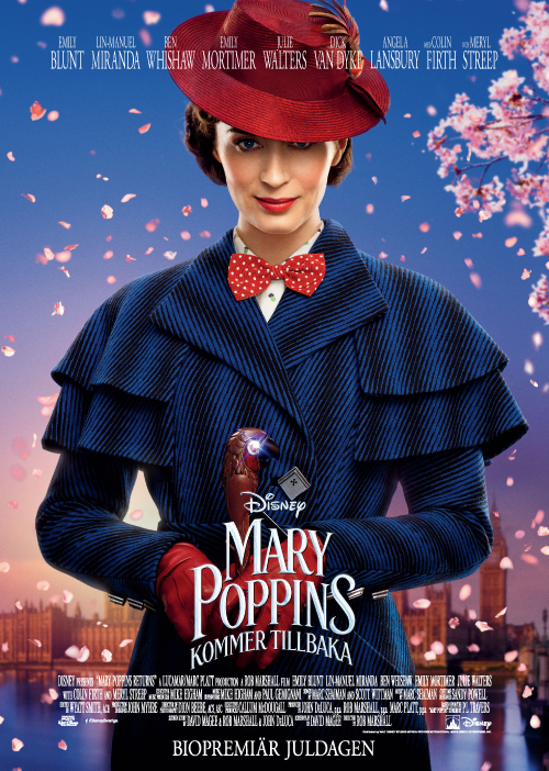 Mary Poppins (Eng. tal Sv. text)
